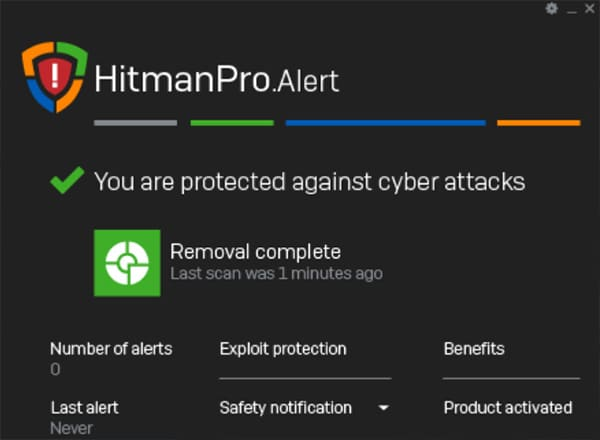 HitmanPro Alert coupon